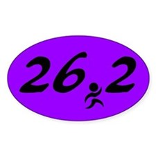 Marathon 26.2 Decal