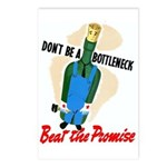 Don't Be A Bottleneck Postcards (Package of 8)