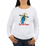 Don't Be A Bottleneck (Front) Women's Long Sleeve
