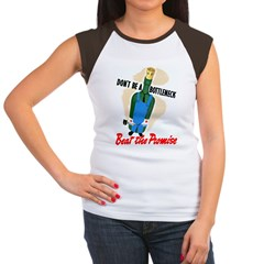 Don't Be A Bottleneck (Front) Women's Cap Sleeve T