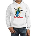 Don't Be A Bottleneck (Front) Hooded Sweatshirt