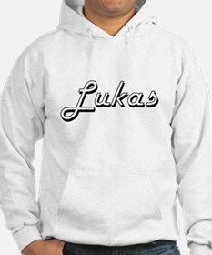 Lukas Classic Style Name Hoodie