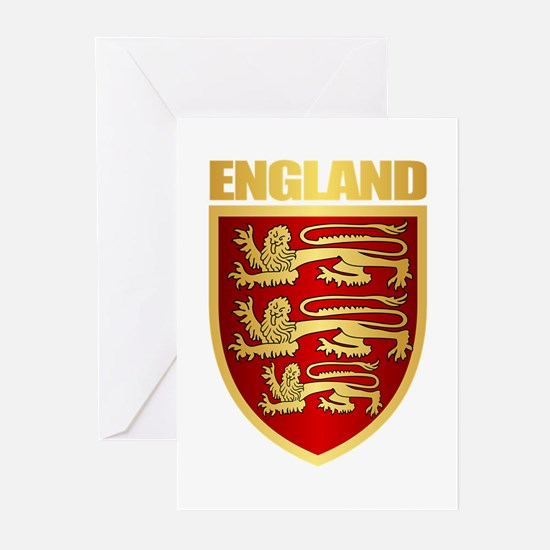 English Royal Arms Greeting Cards