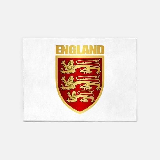 English Royal Arms 5'x7'Area Rug