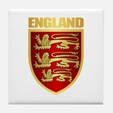 English Royal Arms Tile Coaster