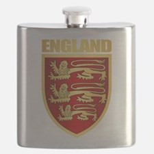 English Royal Arms Flask