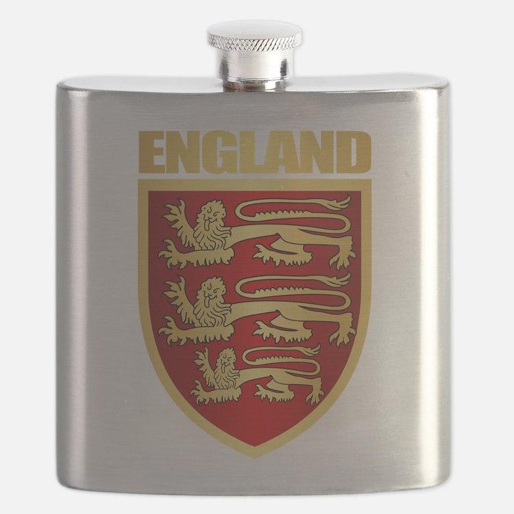 English Royal Arms Flask