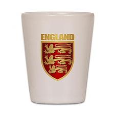 English Royal Arms Shot Glass