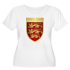 English Royal Arms Plus Size T-Shirt