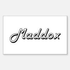 Maddox Classic Style Name Decal