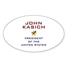 John Kasich for President USA V2 Decal