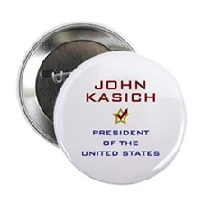 "John Kasich for President USA V2 2.25"" Button"