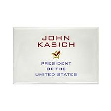 John Kasich for President USA V2 Rectangle Magnet