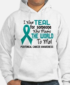 Peritoneal Cancer MeansWorldToMe Hoodie