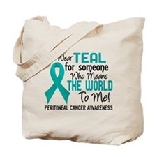 Peritoneal Cancer MeansWorldToMe2 Tote Bag