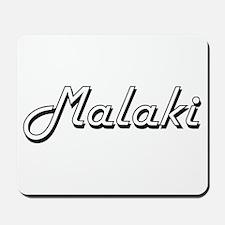 Malaki Classic Style Name Mousepad