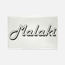 Malaki Classic Style Name Magnets