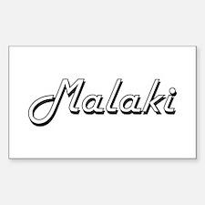 Malaki Classic Style Name Decal