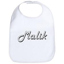 Malik Classic Style Name Bib