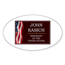 John Kasich for President V3 Decal