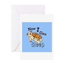 Can Sleep Now Greeting Cards