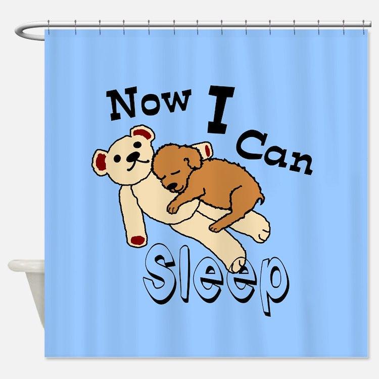Can Sleep Now Shower Curtain