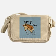 Can Sleep Now Messenger Bag