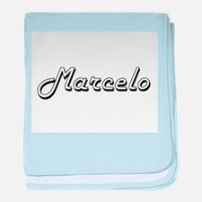 Marcelo Classic Style Name baby blanket