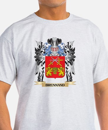 Brennand Coat of Arms - Family Crest T-Shirt