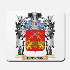 Brennan Coat of Arms - Family Crest Mousepad