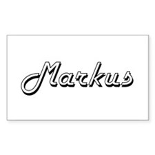 Markus Classic Style Name Decal