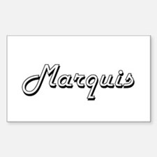 Marquis Classic Style Name Decal