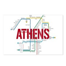 Athens Metro Postcards (Package of 8)