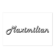 Maximilian Classic Style Postcards (Package of 8)