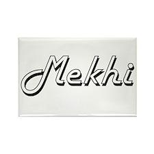 Mekhi Classic Style Name Magnets