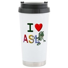 Asl teacher Travel Mug