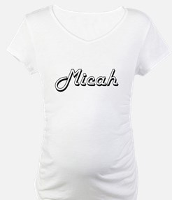 Micah Classic Style Name Shirt