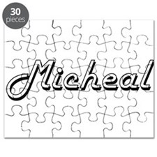 Micheal Classic Style Name Puzzle
