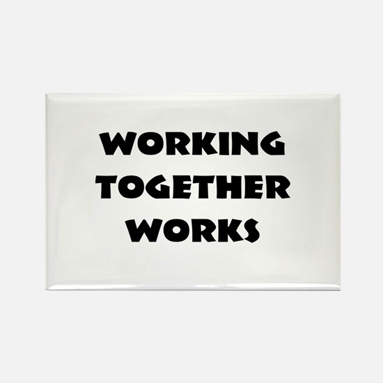 Teamwork inspiration Magnets