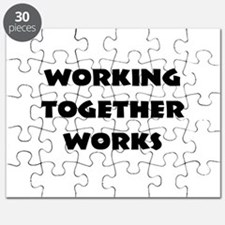 Teamwork inspiration Puzzle