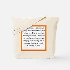 bernie sander quote Tote Bag