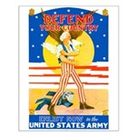 Army Defend Your Country Small Poster