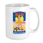 Army Defend Your Country Large Mug