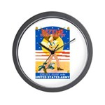 Army Defend Your Country Wall Clock