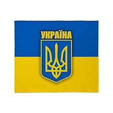 Ukraine 2 Throw Blanket