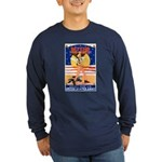 Army Defend Your Country (Front) Long Sleeve Dark