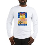 Army Defend Your Country (Front) Long Sleeve T-Shi