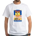 Army Defend Your Country (Front) White T-Shirt