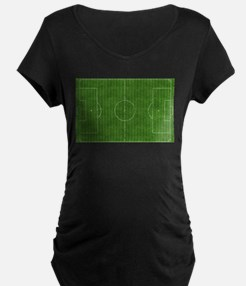 Fútbol Field Maternity T-Shirt