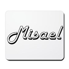 Misael Classic Style Name Mousepad